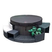 Canadian Spa Company <b>5 Piece</b> Round Spa Surround Furniture Set ...