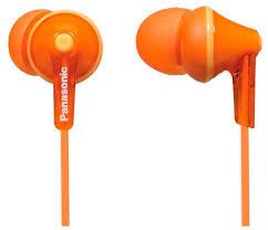 Купить <b>Наушники Panasonic RP-HJE125</b> оранжевый по низкой ...