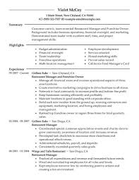 example customer service resume banking resume objective example customer service resume customer restaurant service resume restaurant customer service resume images full size