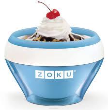 "<b>Мороженица Zoku</b> ""<b>Ice Cream</b> Maker"", цвет: синий, 150 мл. ZK120 ..."