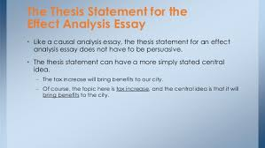 cause and effect essay thesis  writersgroupwebfccom cause and effect essay thesis
