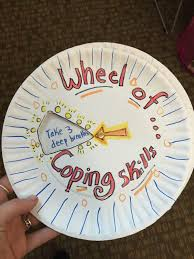 spin the wheel of coping skills art of social work spin the wheel of coping skills
