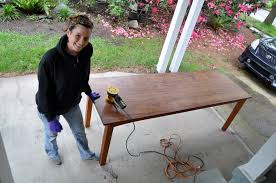 Refinishing A Dining Room Table Refinish The Dining Room Table At Humongous Love