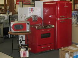 Colored Kitchen Appliances Retro 1950s Styled Kitchen Appliances With All The Modern