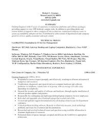 sample resume desktop support specialist computer support desktop support resume sample