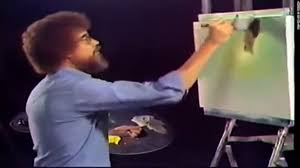 What do <b>Bob Ross</b> and Michigan have in common? Happy little ...