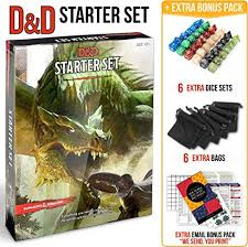 Dungeons and Dragons Starter Set 5th Edition - DND ... - Amazon.com