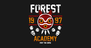 <b>Forest Academy</b> - Princess <b>Mononoke</b> - <b>T</b>-<b>Shirt</b>   TeePublic