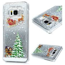 Mavis's Diary 3D Bling <b>Christmas</b> Style Quicksand Case <b>Flowing</b> ...