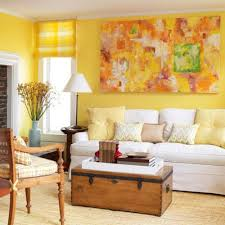 red and yellow color schemes for living room modern interior design bhg living rooms yellow