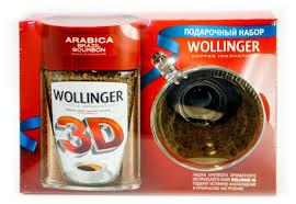 Купить Набор <b>кофе растворимый WOLLINGER 3D</b> с кружкой по ...