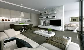 Modern One Bedroom Apartment Design Studio Apartment Interiors Inspiration