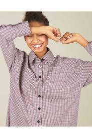 <b>Рубашка в клетку</b> с карманами S <b>12Storeez</b> купить за 5980 ...