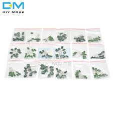 180pcs 18value*<b>10pcs Polyester Film Capacitor</b> Contains 2A104J ...