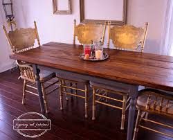 Craigslist Dining Room Tables Dining Room Saga Farmhouse Style Dining Table Figuring Out Fabulous
