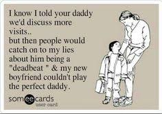 "Deadbeat dad??? How about ""USELESS MOM""!!!!!!!! on Pinterest ... via Relatably.com"