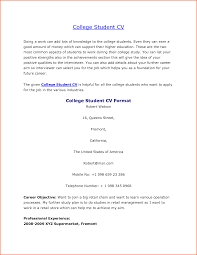 cv format college student event planning template template larr open resume templates college student cv by sayeds