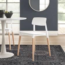 Modern & Contemporary Modern <b>Swivel Dining Chairs</b> | AllModern