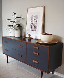 retro 1960s alrob teak charcoal sideboard drawers danish scandi bedroom sideboard furniture