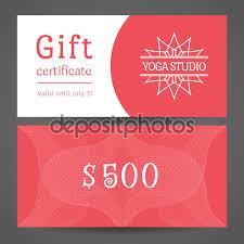 certificate yoga gift certificate template inspiration printable yoga gift certificate template medium size