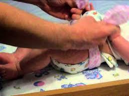 <b>Многоразовый подгузник</b> из пеленки. - YouTube