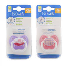 <b>Dr</b>.<b>Brown's Пустышка PreVent Классик</b>, от 6 до 12 месяцев, с ...