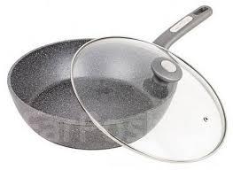 Сковорода <b>сотейник d</b>-<b>26</b> (литой алюмин, высота 7,5см, ст/кр ...