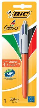 <b>BIC Ручка шариковая</b> 4 Colours Original Fine, 0.8 мм (802078 ...