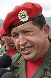 Hugo Chávez rasselt mit Venezuelas Säbeln: - hugo-chavez-venezuelas-saebeln-staatspraesident-kolumbien-krieg-255197_i