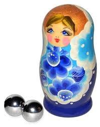 Купить Sitabella <b>Вагинальные шарики</b> из <b>металла</b> в футляре ...