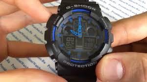 Видеообзор <b>часов Casio</b> G-SHOCK GA-100-1A2 - обзор ...