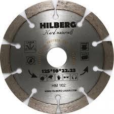 <b>Диск</b> алмазный <b>Hilberg</b> 125х2х10х22,23 Hard Materials Лазер ...