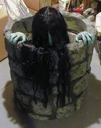 i found samara the ring haunted house animated halloween prop motorized well scary on check haunted house