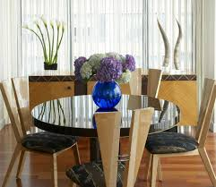 small dining room decor glass dining table  glass dining table unique wooden chairs creative dining room finish small dining room ideas dining room cozy small dining room ideas