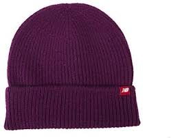 New Balance Men's <b>Watchman's Winter Beanie</b>, Claret, One Size ...