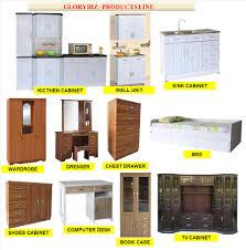 kitchen cabinet big indoor mdf rubber