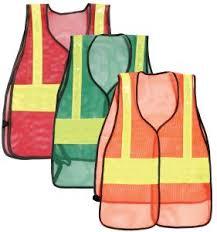 Plain <b>Reflective</b> Vest (Red, <b>Orange</b>, <b>Green</b>)