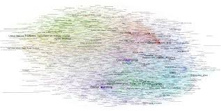 emaps hyperlink network network of hyperlinks between articles related to climate change