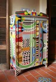 brightly painted armoiri love it bright painted furniture