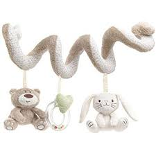 Dimart <b>Baby</b> Activity Spiral <b>Toy Plush Animals Stroller</b> Bed Hanging ...