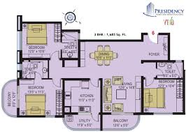 3 bedroom house plan in india