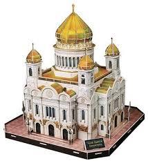 3D-пазл <b>CubicFun Храм Христа</b> Спасител... — купить по ...