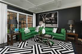 black and green living room contemporary with white coffered ceiling barn home black green living room home