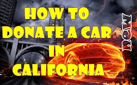How To Donate A Car In California (NEW) - YouTube