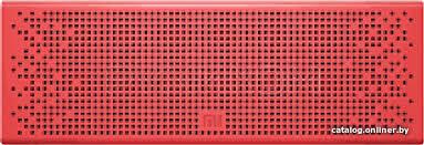 Xiaomi <b>Mi Bluetooth Speaker</b> (<b>красный</b>) беспроводная колонку ...