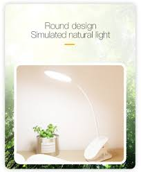 <b>YAGE</b> Portable <b>LED Desk</b> Lamp Touch On/Off Switch Eye Protection ...