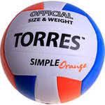 Купить <b>Мяч волейбольный Torres любительский</b> Simple Orange ...