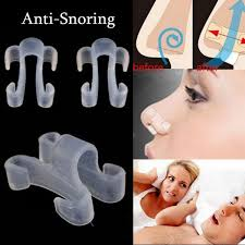 <b>1 Pc Anti</b>-<b>Snoring Anti Snore</b> Apnea Nose Clip Breathe Aid Stop ...