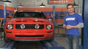 Mustang <b>GT Style Grille</b> w/ Fog Lights (05-09 V6) Review - YouTube