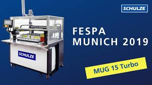 FESPA Munich: Automatic <b>Mug</b> Heat Press - YouTube
